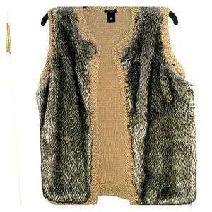 Furry super soft vest